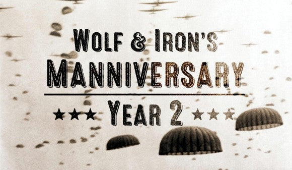 Happy Manniversary! A Year of Manliness: Year Two - Wolf and Iron