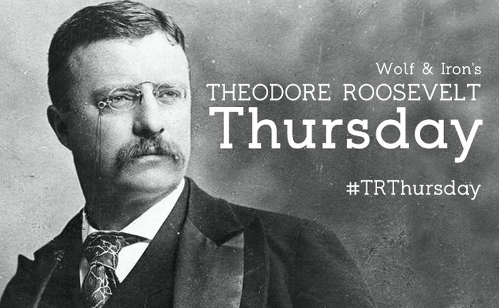 TRThursday: Theodore Roosevelt Gets Fat…