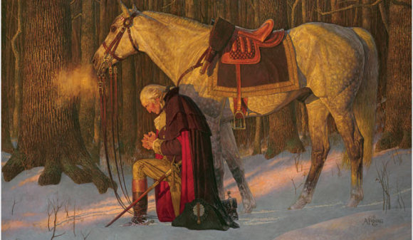 George Washington's 1789 Thanksgiving Proclamation - Wolf and Iron