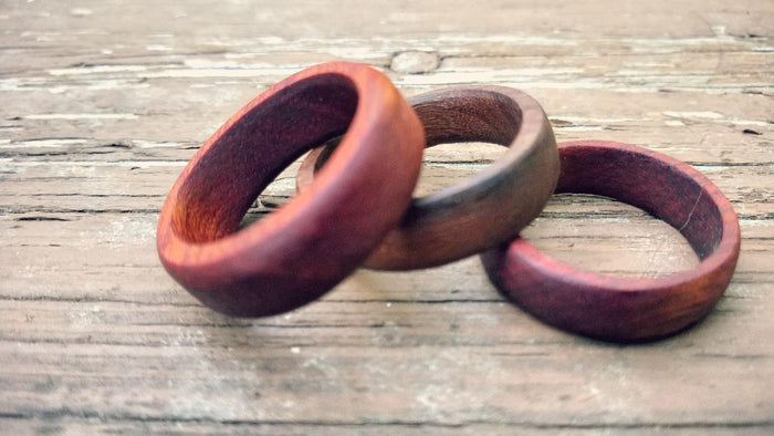 How to Make a Wooden Wedding Ring