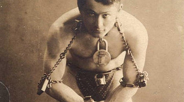 Man of the Month: Harry Houdini – Part 1 – The Handcuff King - Wolf and Iron
