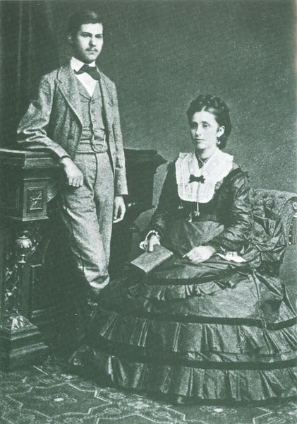 Sigmund and his mother