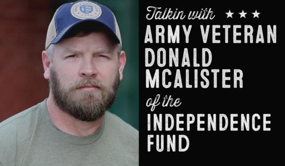 Wolf & Iron Podcast #29 – Veteran's Day Special with Donald McAlister from The Independence Fund