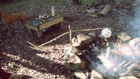 4 Camping Tricks with Forked Sticks - Wolf and Iron