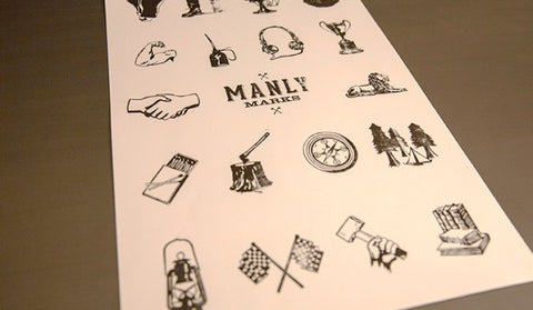 BRANDON GRISWOLD – GRAPHIC DESIGNER, PRINTMAKER, & AUTHOR OF MANLY MARKS - WOLF AND IRON