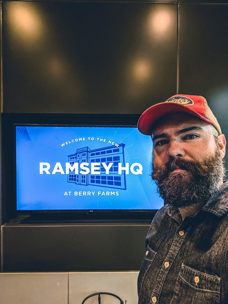 Mike Yarbrough at the Ramsey Solutions Headquarters