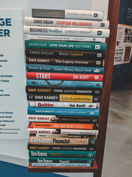 Inspirational books from Dave Ramsey's group