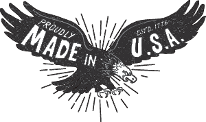 Wolf and Iron Made in USA Logo