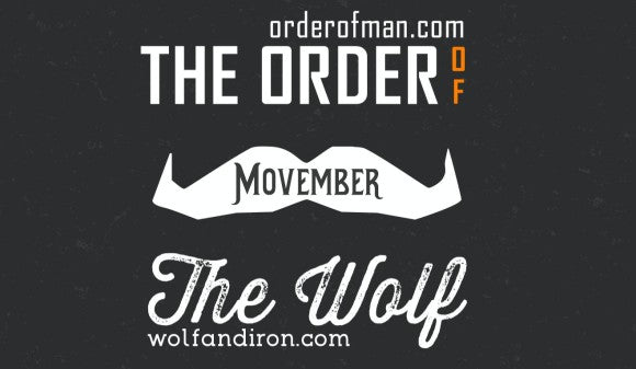 Movember 2015 Winners! - Wolf and Iron