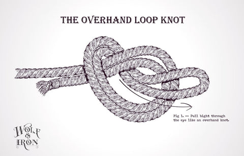 The Overhand Loop Knot