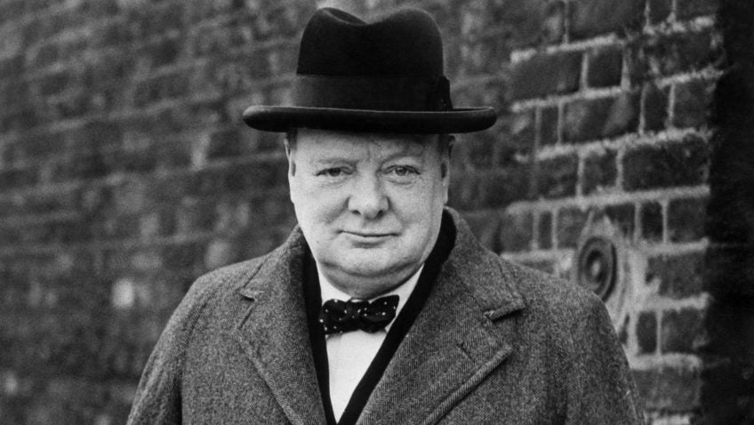 Winston Churchill Wolf and Iron Blog Manliness