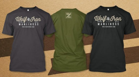 The Official Wolf & Iron T-Shirt!