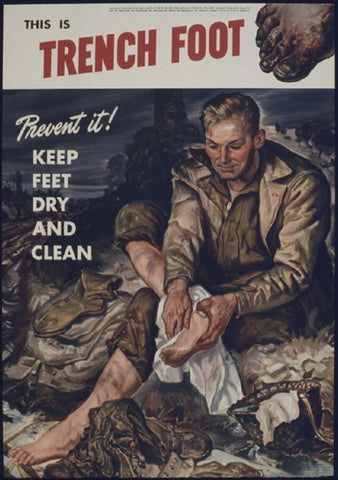 Trench Foot Advertisement WWI