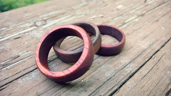 make a wooden wedding ring 18