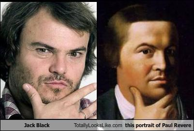 Paul revere jack black look alike