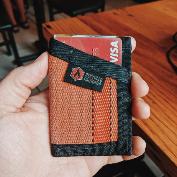 """Recycled Firefighter's """"The Sergeant"""" Wallet Review – Wolf"""