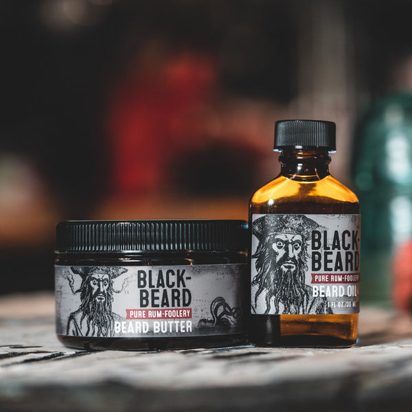 Beard Oil - Blackbeard: Rum-ish, Warm, & Spicey