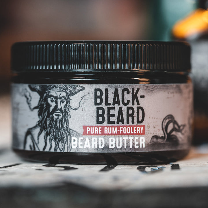 Beard Butter - Blackbeard: Rum-ish, Warm, & Spicey
