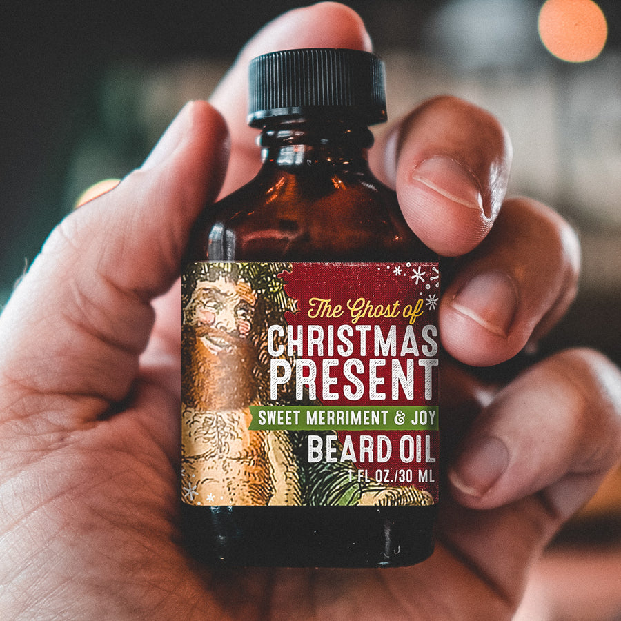 Limited Edition Beard Oil - The Ghost of Christmas Present!