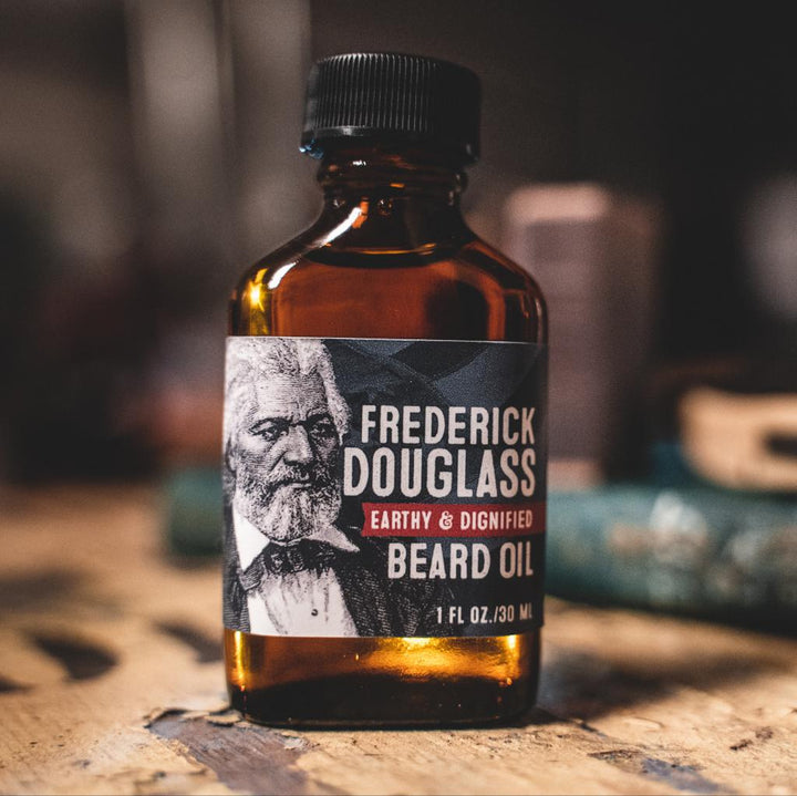 Beard Oil - Frederick Douglass: Earthy, Sweet, & Diginified