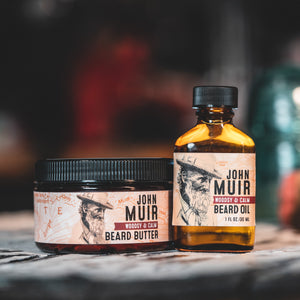 Beard Oil - John Muir: Woodsy & Calm