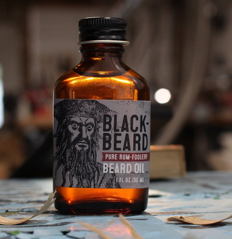 Beard Oil - Beard Oil - Blackbeard: Rum-ish, Warm, & Spicey