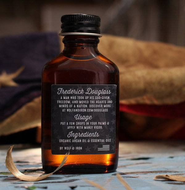 Beard Oil - Beard Oil - Frederick Douglass: Earthy, Sweet, & Diginified