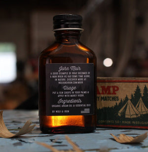 Beard Oil - Beard Oil - John Muir: Woodsy & Calm