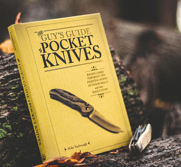 The Guy's Guide to Pocket Knives Book (Signed Copy)