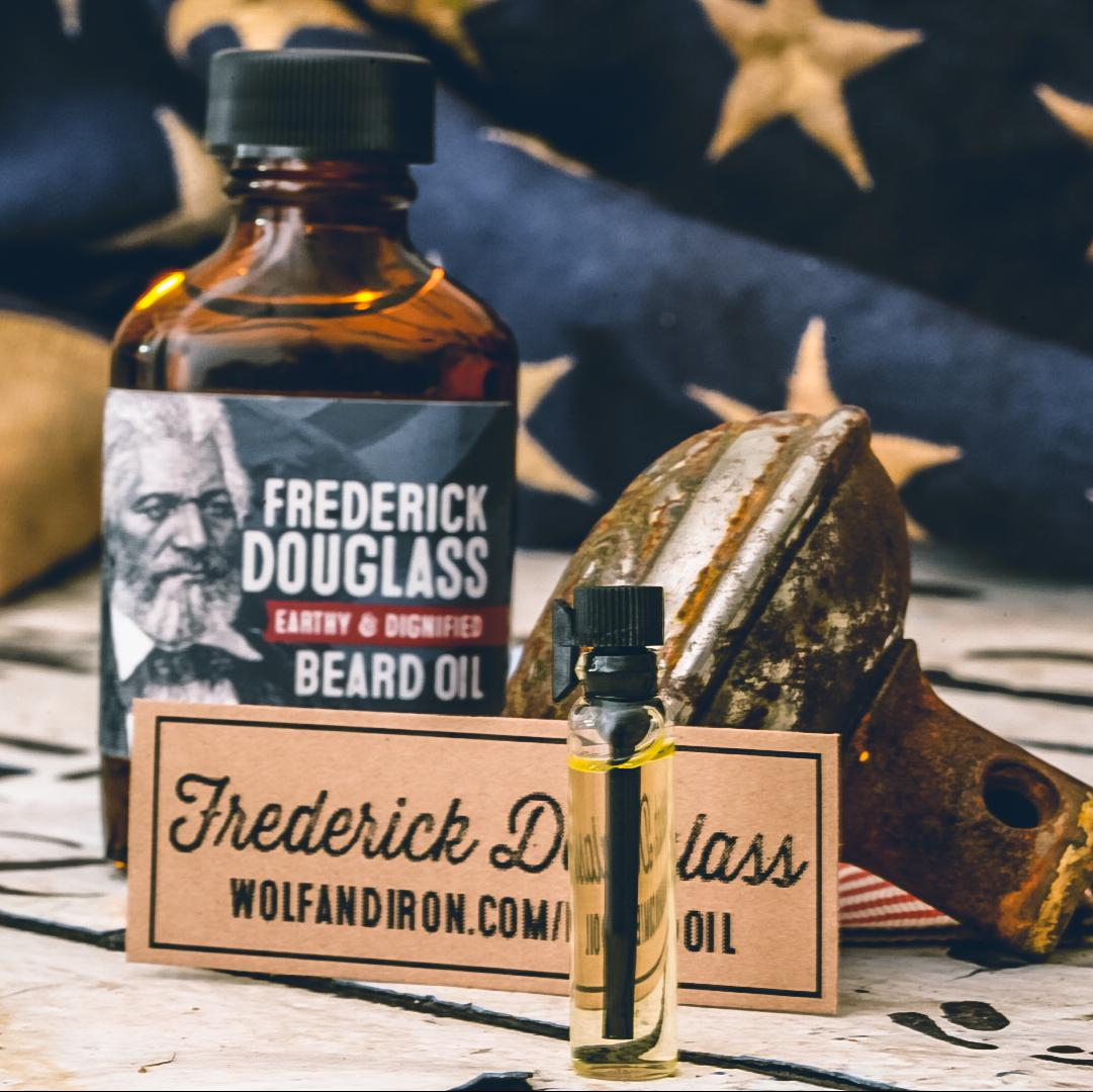 Frederick Douglass Beard Oil Sample