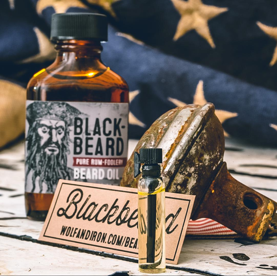 Blackbeard Beard Oil Sample