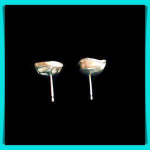Pebble Cup Earrings (SOLD)
