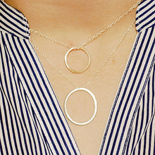 Not Quite Circles Necklace