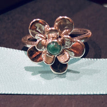 Double Petal Daisy Ring