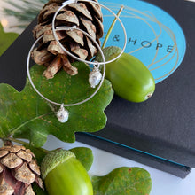 Limited Edition Miniature Black Pearl Acorns