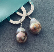 Baroque Pearl Earrings - As seen in Vogue