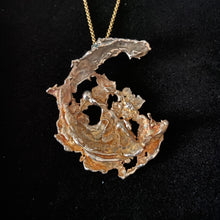 SOLD OH! Phoenix Golden Necklace