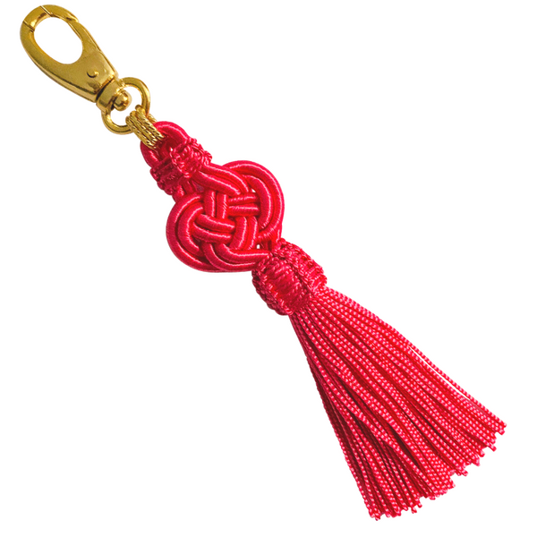 Halcyon & Hadley Moroccan Silk Tassel Bag Charm in Pink Flamingo - Women's Earrings - Women's Jewelry - Unique Earrings - Statement Earrings