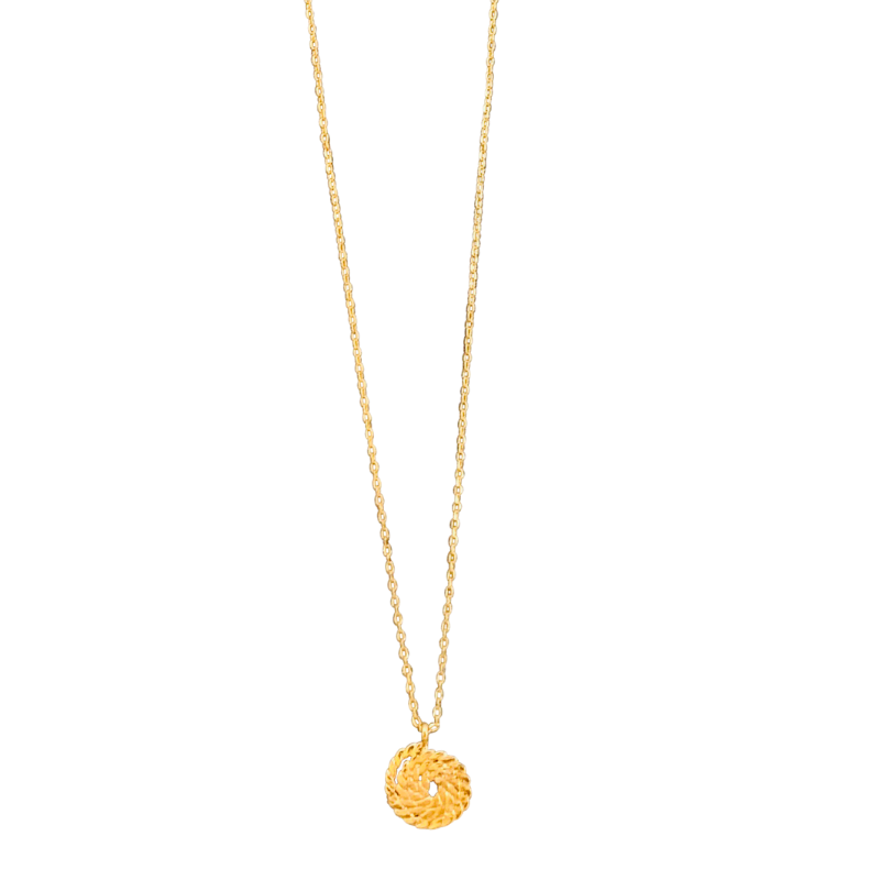 Nauti Necklace in Gold
