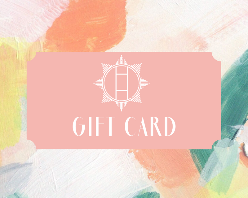 Halcyon & Hadley Gift Card - Women's Earrings - Women's Jewelry - Unique Earrings - Statement Earrings