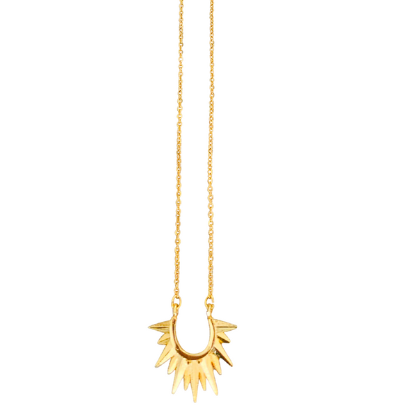 Solstice Necklace in Gold