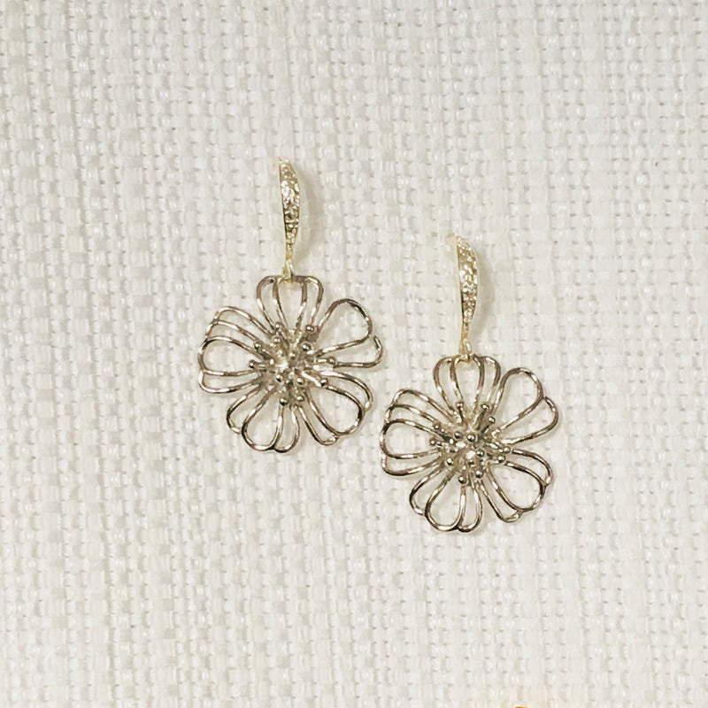 Halcyon & Hadley Sakura Drop Earrings - Women's Earrings - Women's Jewelry - Unique Earrings - Statement Earrings