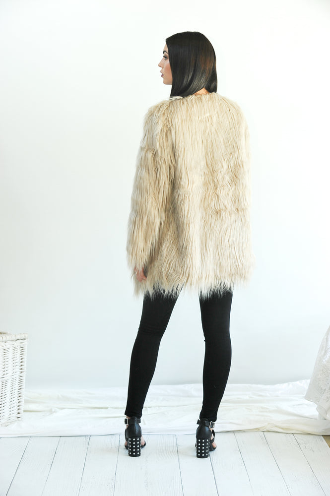 Faux Fur Baby - Fur Coat