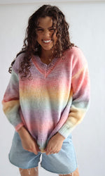 Arc-en-Ciel // Rainbow Knit Jumper