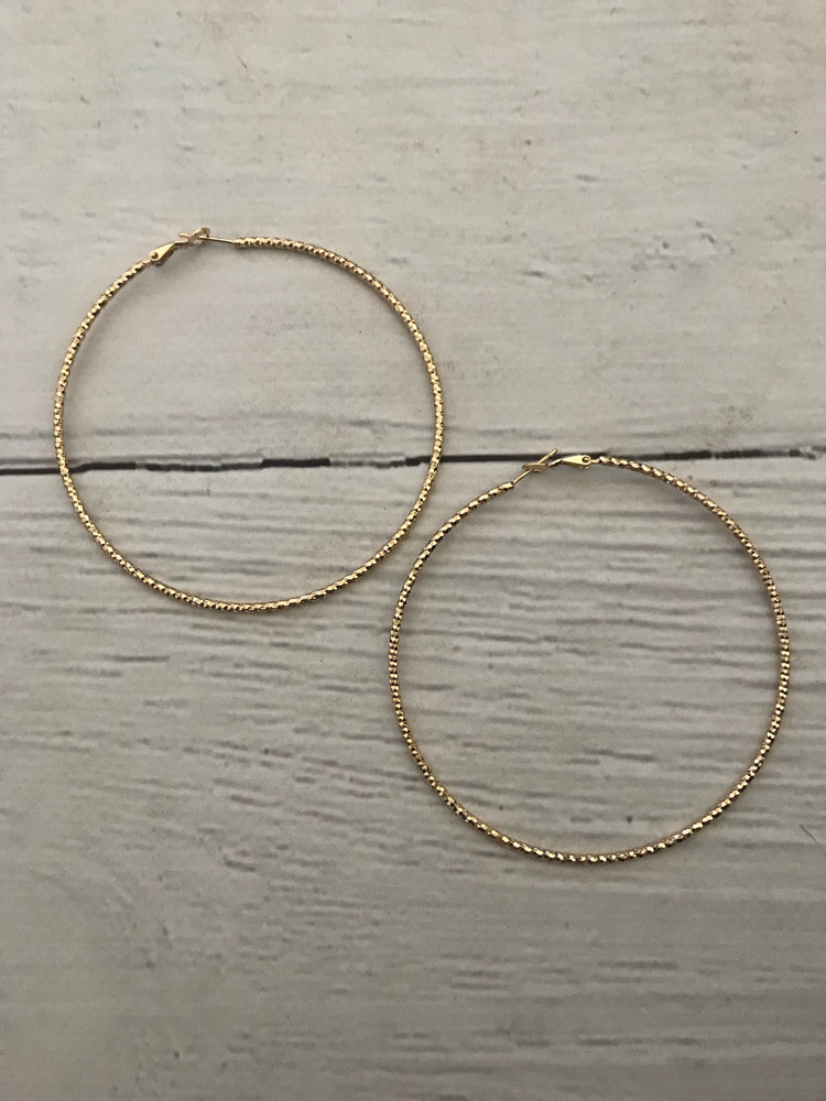 Céline // Gold Hoops