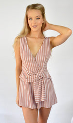 Bonbon // Candy Stripe Playsuit