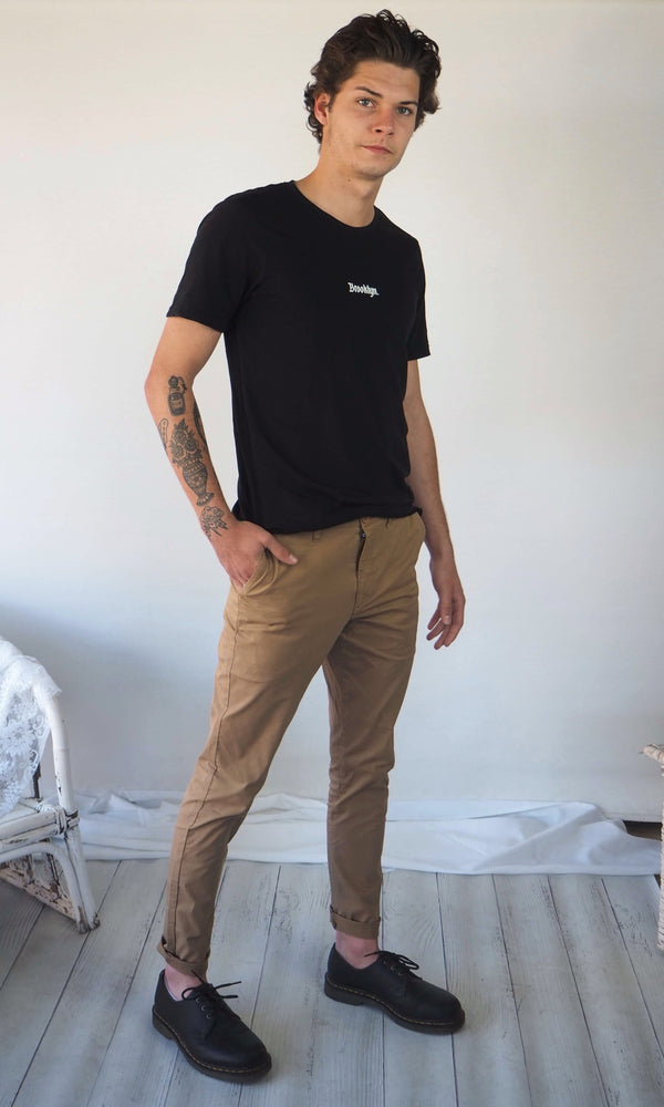 Slim Fit Chino // Tan
