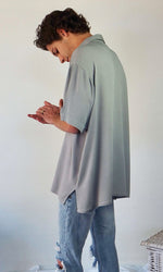 The Huntington Oversized Shirt // Grey