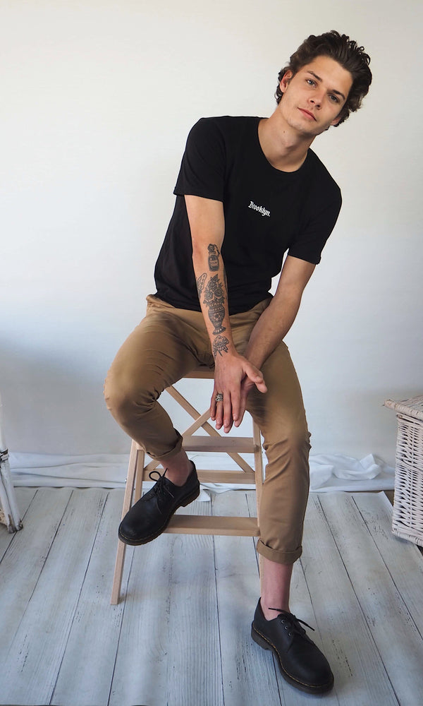 Slim Fit Chino - Tan