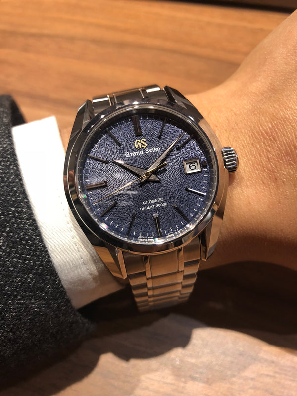 Baselworld 2018 Grand Seiko Hi-Beat 20th Anniversary Of 9S movement
